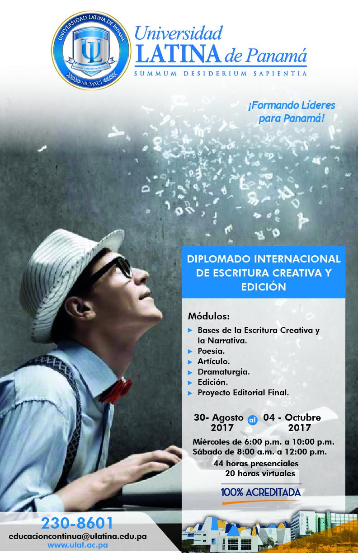 EC DIPLO INT. DE ESCRITURA CREATIVA Y EDICIOìN Julio 2017-01-01